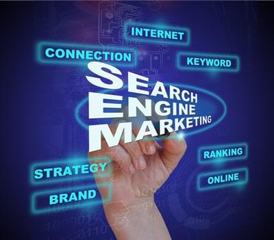 web development, search engine marketing