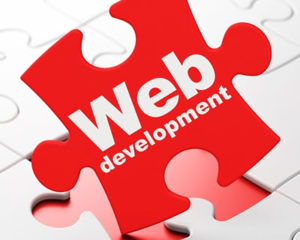web development, website design