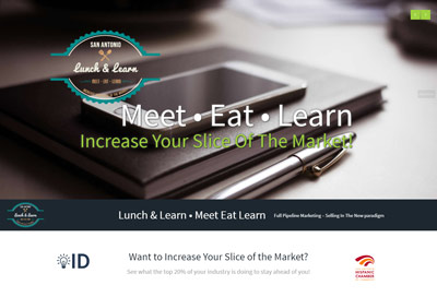 SA Lunch and Learn Website Design